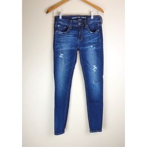 American Eagle• Distressed Denim Skinny Jeans